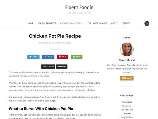 How to Make Chicken Pot Pie At Home