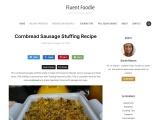 Cornbread Sausage Stuffing Recipe
