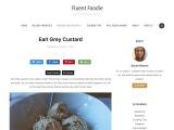 Earl Grey Frozen Custard – Fluent Foodie