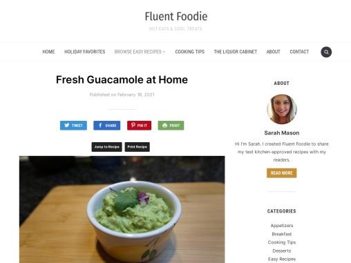 Find Fresh Guacamole Recipe at Home
