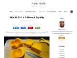 Learn How To Cut A Butternut Squash