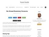 No-Knead Rosemary Focaccia – Fluent Foodie