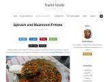 Spinach and Mushroom Frittata Recipe