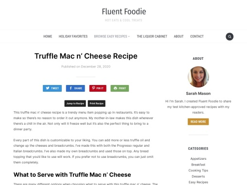 How to Prepare a Truffle Mac Cheese for Your Kids