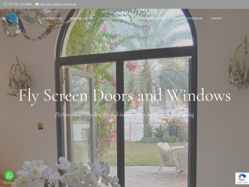 Cleaning and maintenance of your fly screens