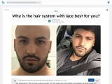 Why is the hair system with lace best for you