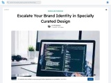 Escalate Your Brand Identity in Specially Curated Design