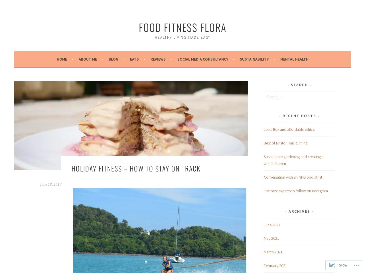 Holiday fitness – how to stay on track – food_fitness_flora
