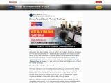 Know About Stock Market Trading