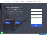 adolescent medicine specialist email list