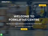 The Only One-Stop Forklift Solution Provider You Will Ever Need