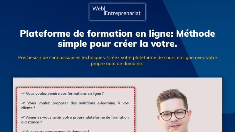 comment creer votre plateforme d'e-learning