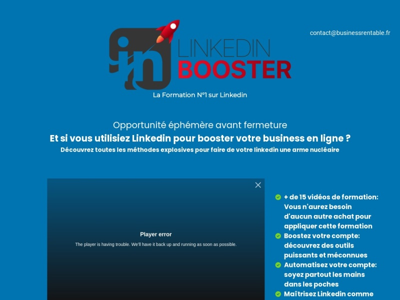 linkedin booster