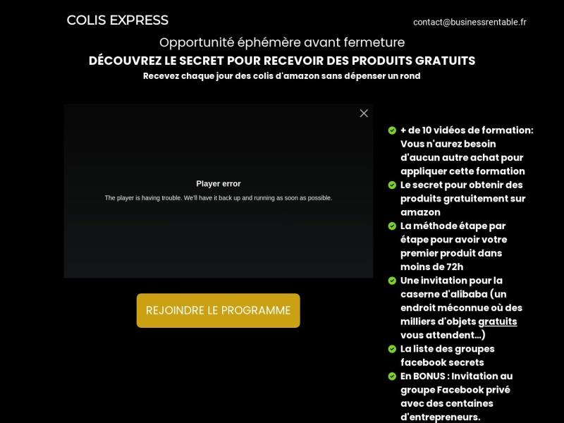 colis express