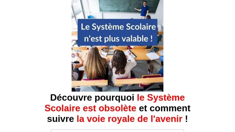 le systeme scolaire n'est plus valable