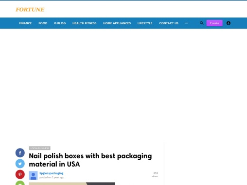 Printed Personalized Branded nail polish boxes in USA