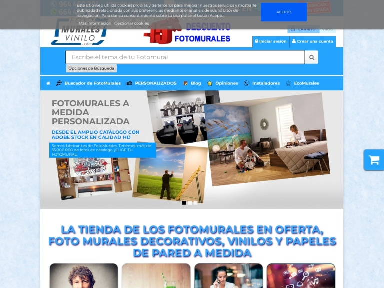 Fotomurales Vinilo screenshot