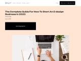 How To Start An E-design Business?