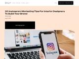Instagram marketing for interior design business