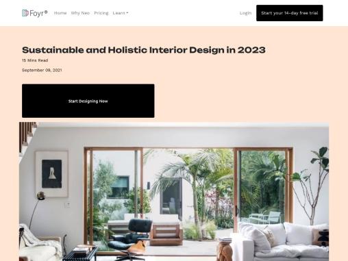 Sustainable interior design | Sustainable interior design