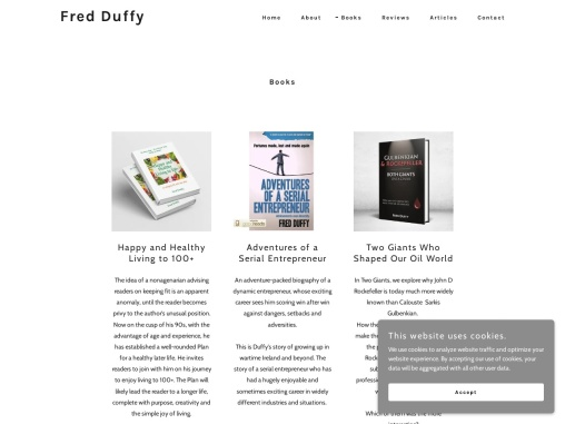 Adventures of a Serial Entrepreneur : Fred Duffy