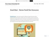 Email Blast – Review Positif Dari Konsumen