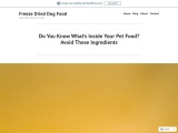 Do You Know What's Inside Your Pet Food? Avoid These Ingredients