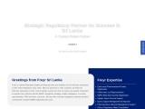 Regulatory Services in Sri Lanka, NMRA, Sri Lanka Regulatory Partner
