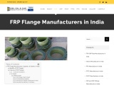 FRP Flange Manufacturers in India
