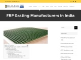 FRP Grating Manufacturers in India