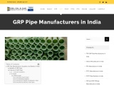 GRP Pipe Manufacturers in India
