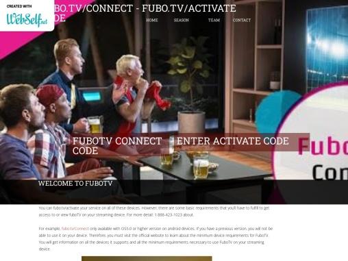 FuboTv Connect Code – Fubo Connect  Code