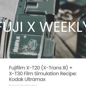 Fujifilm X-T20 (X-Trans III) + X-T30 Film Simulation Recipe: Kodak Ultramax | FUJI X WEEKLY