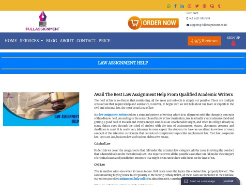 LLB students are you looking for law assignment?