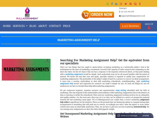 mba student you looking for marketing assignment help?
