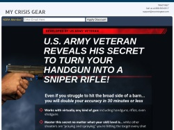MCG Tactical Laser Sight screenshot