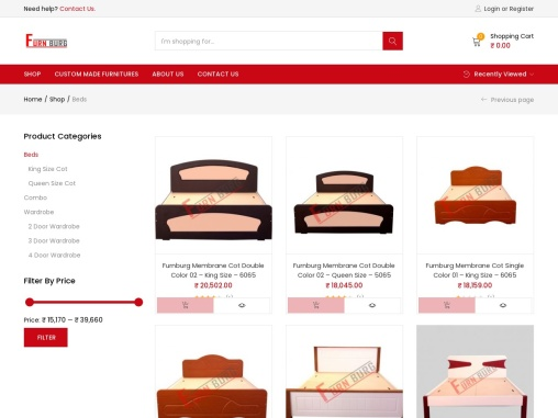 beds online in bangalore