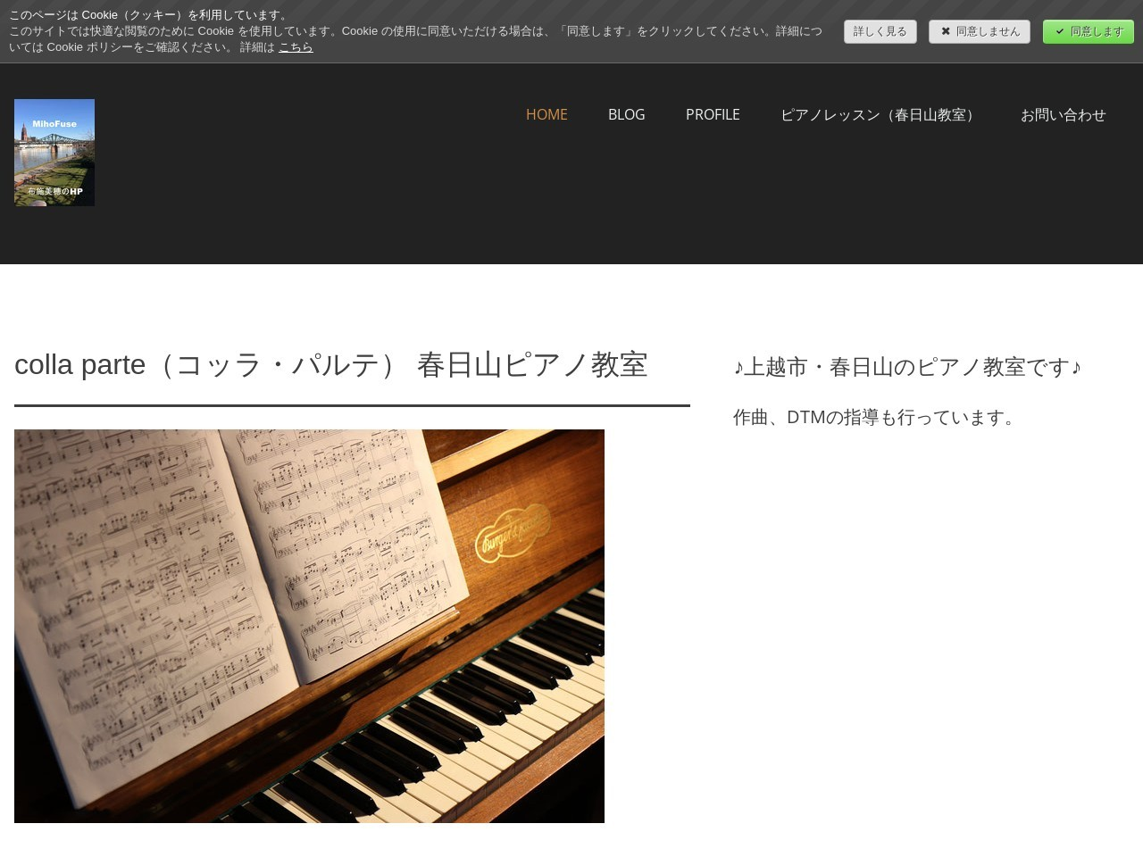 布施美穂ピアノ教室のサムネイル