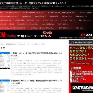 XM - XMブログ(海外FXで億トレーダー実現ブログ) & 海外FX比較ランキング
