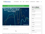 SPOT FOREX TRADING AND CFD FOREX TRADING