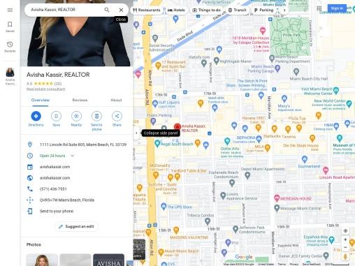 Avisha Kassir Luxury Home & Investment Properties – Miami