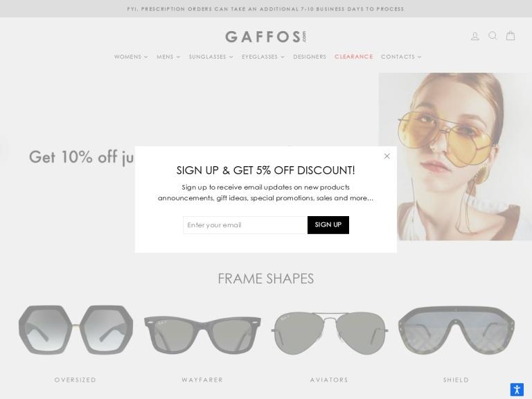 Gaffos screenshot