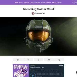 Becoming Master Chief