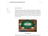 Online Poker | Total GameZone Xtreme, Inc | Authorized & Licensed Online Casino