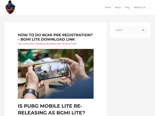 BGMI Lite Release Date, Pre Registration, Apk Download Link