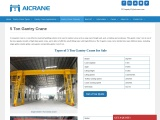 Advantages of 5 Ton Gantry Cranes