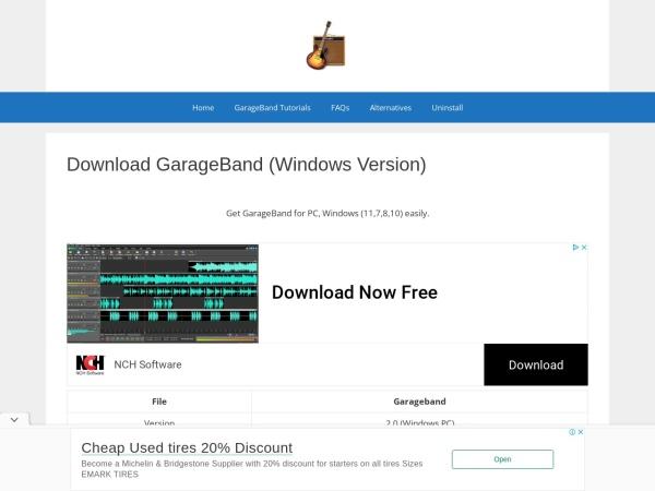 GarageBand - 11 Best Free BEAT Making Software (2020)