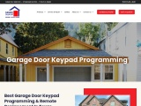 Best Garage Door Keypad Programming & Remote Replacement In Texas