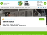 Security Shutters Installations | Charleston SC to Wilmington NC
