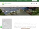 Manufacture of psyllium seeds in india | gayatripsyllium